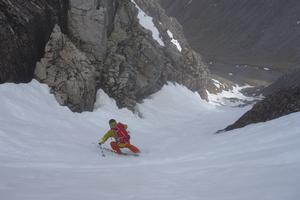 Tower Gully, Ben Nevis: Tower Gully, late May 2016 Photo: Scott Muir