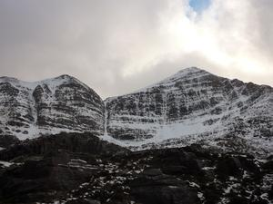 Way Up, Liathach: Coire Dubh Beag and Coire Dubh Mor: A wider view of Coire Dubh Mor. Photo: Scott Muir
