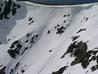 Skiing the 'Avalanche Slope', April 2007  Photo: Scott Muir