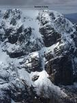 Number 5 Gully, as viewed from Carn Mor Dearg  Photo: Scott Muir